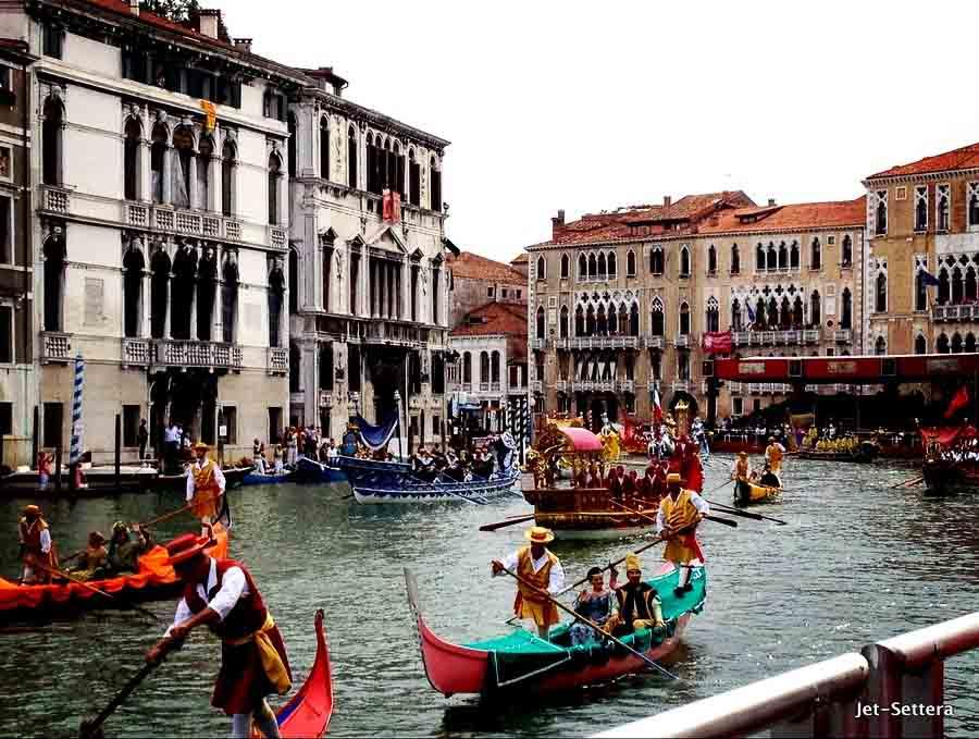 Romantic getaways around the world visiting Venice