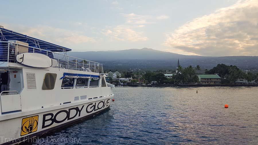 Body Glove snorkel cruise in Kona Hawaii