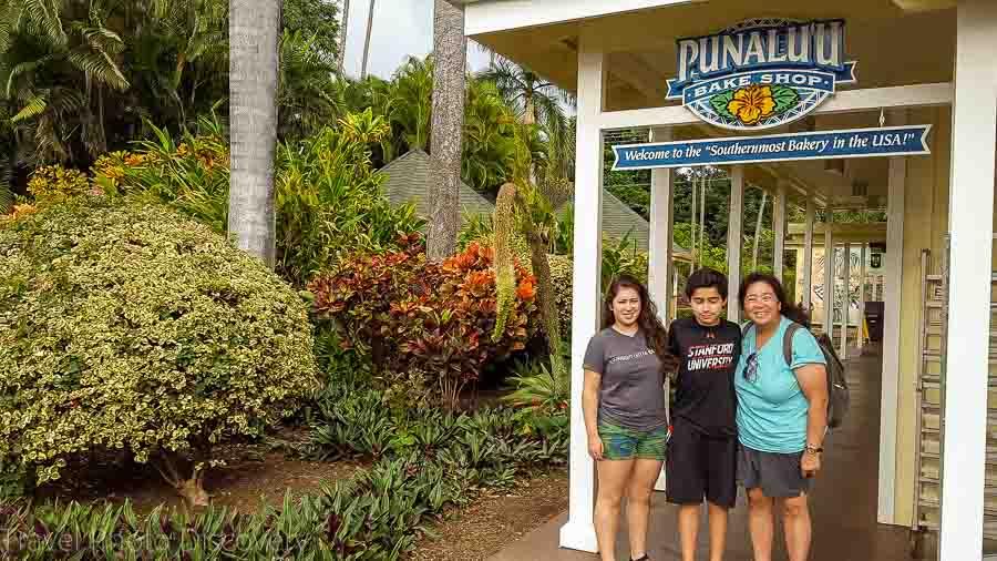 Visiting Punalu'u bakery for some tasty malasadas Big Island