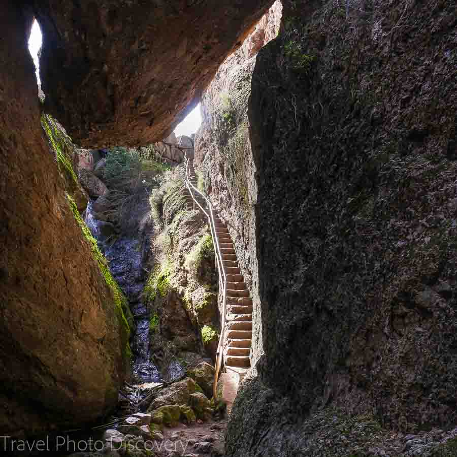 Balconies cave at Pinnacles National park