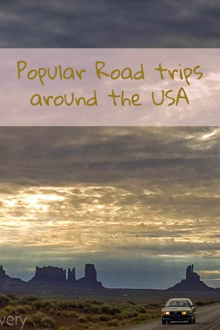 Top road trips USA