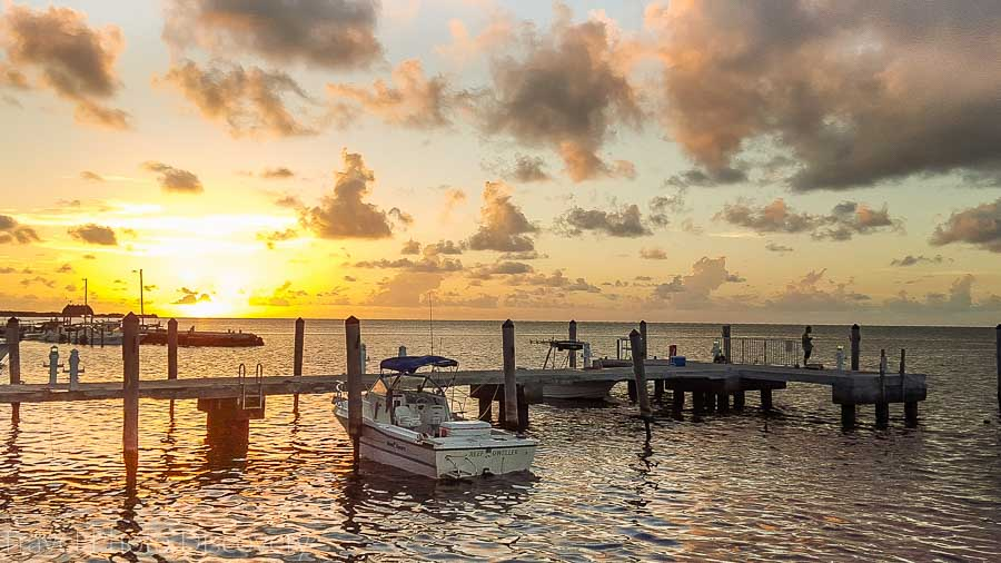 Enjoying a magical sunset in Islamorada