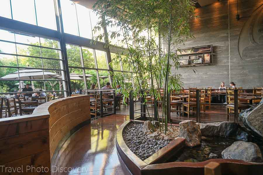 Stone Brewing gardens and restaurant in Escondido California