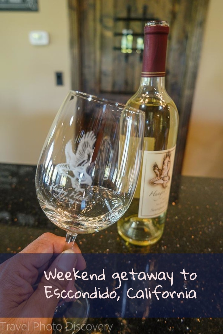 weekend getaway to Escondido, California