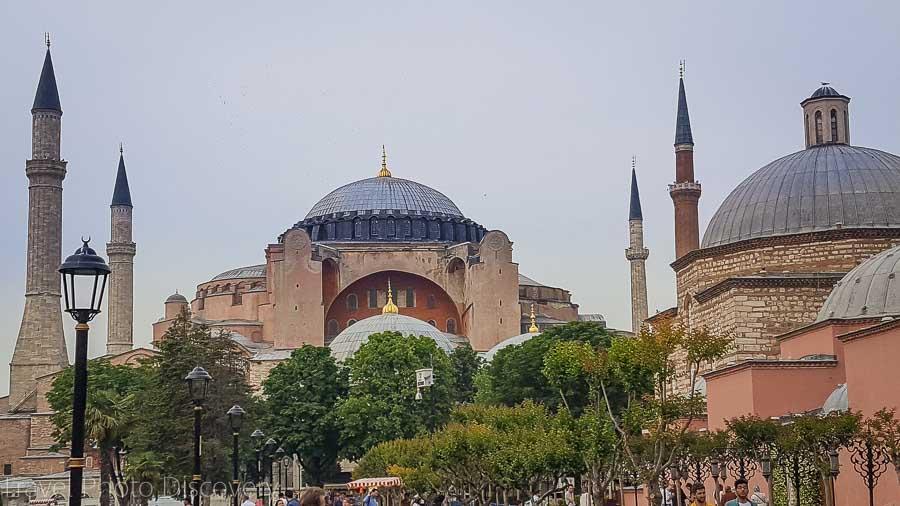 Hagia Sofia in Sultanhamet in Istanbul