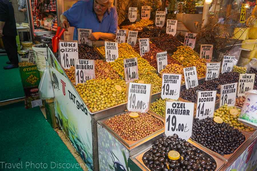 Grand bazaar and the spice market in Istanbul