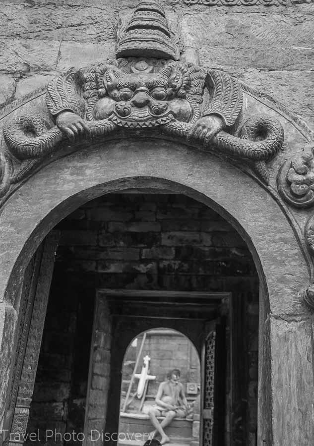 Pashupatinath Temple in Katmandu, Nepal