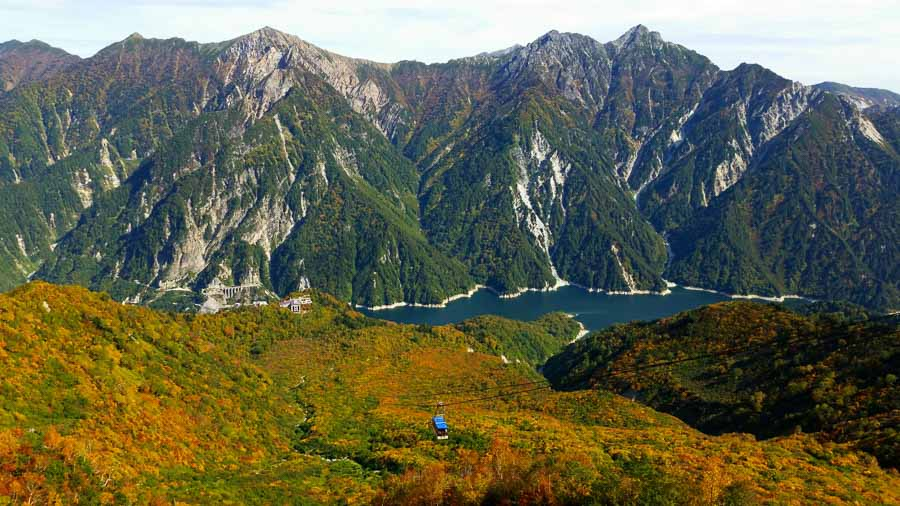 Autumn Views on the Tateyama Ropeway Japan - Pretraveller