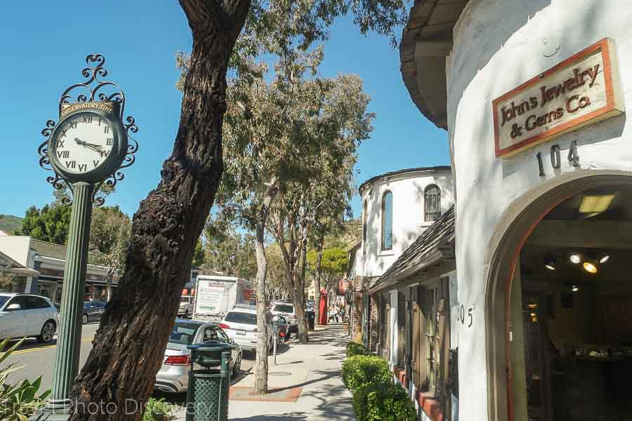 Exploring Laguna Beach downtown village
