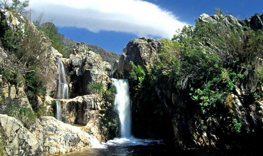jonkershoek-waterfall Cape Town