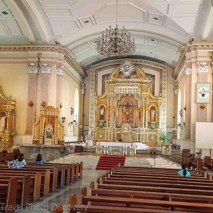 Cebu Cathedral interior