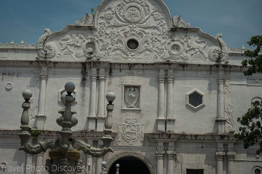 Cebu's cathedral in the historic district