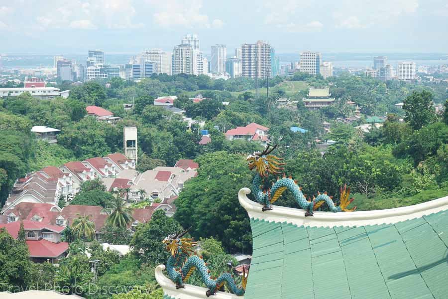 Views from the Taoist temple in Cebu