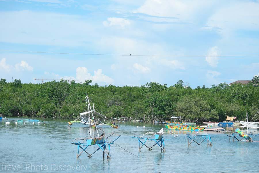 Mactan island hopping boating experience