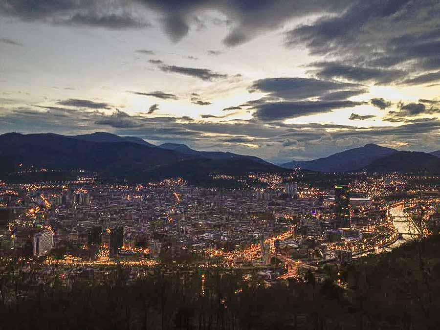 Mt Artxanda Bilbao visit in two days
