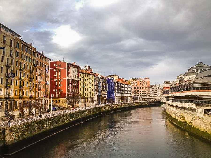 Nervion River Bilbao