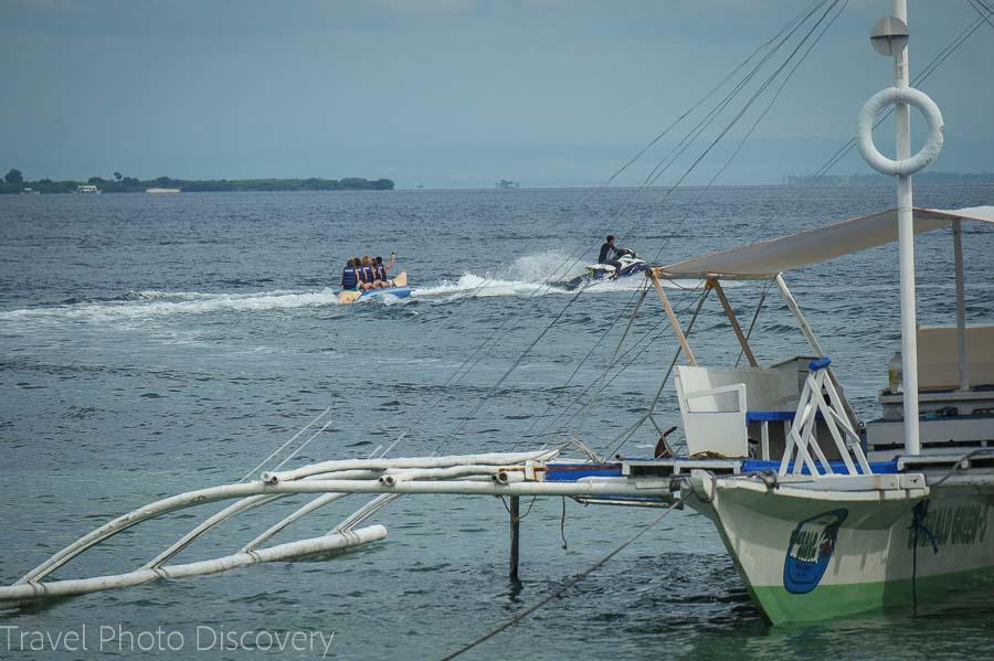 Island hopping off Mactan Island