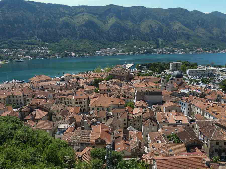 kotor old town in one day