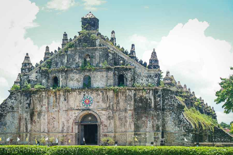 Paoay church in Ilocos Norte Philippines