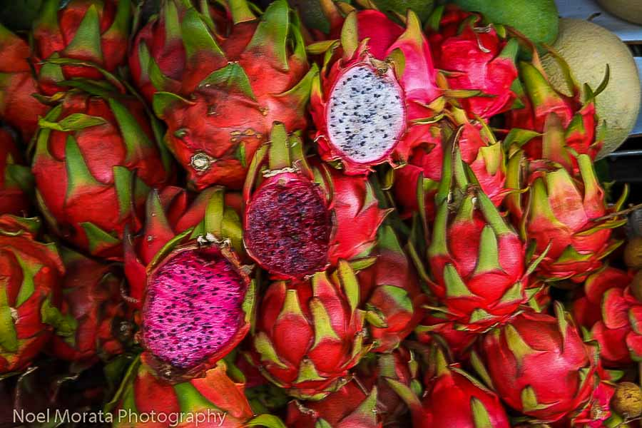 Unusual and exotic Dragon fruit