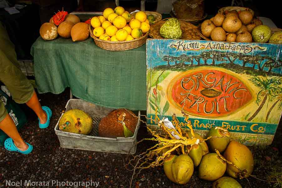 Exotic and unusual fruits around the world