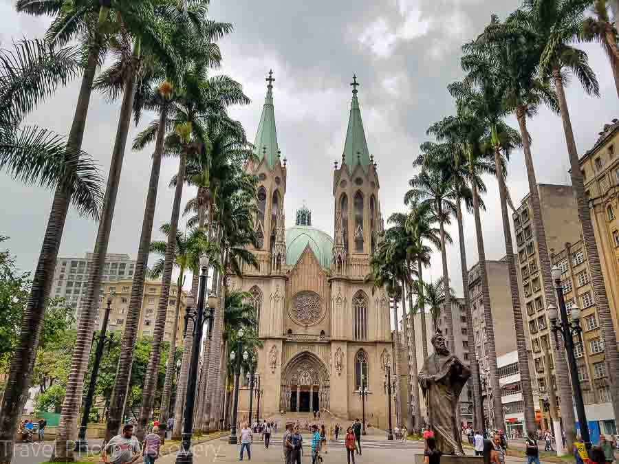 Se Cathedral and square Free things to do in Sao Paulo