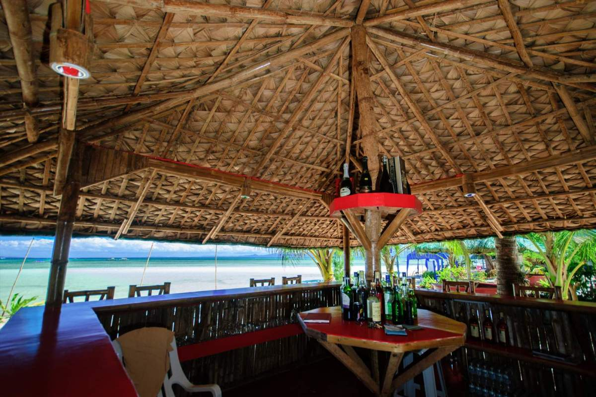 Cagbalete Island The view of the beach from Joven's bar
