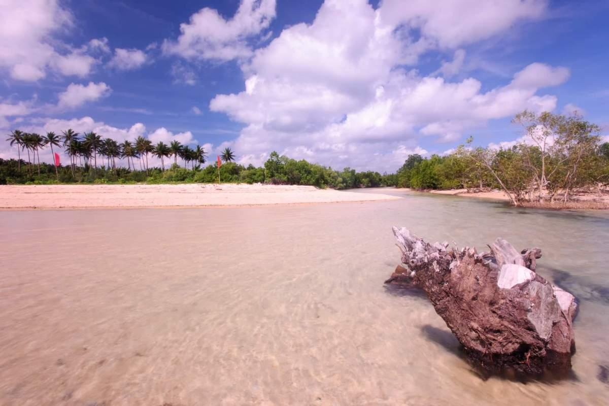 Cagbalete Island Ilog-bukana (the estuary)