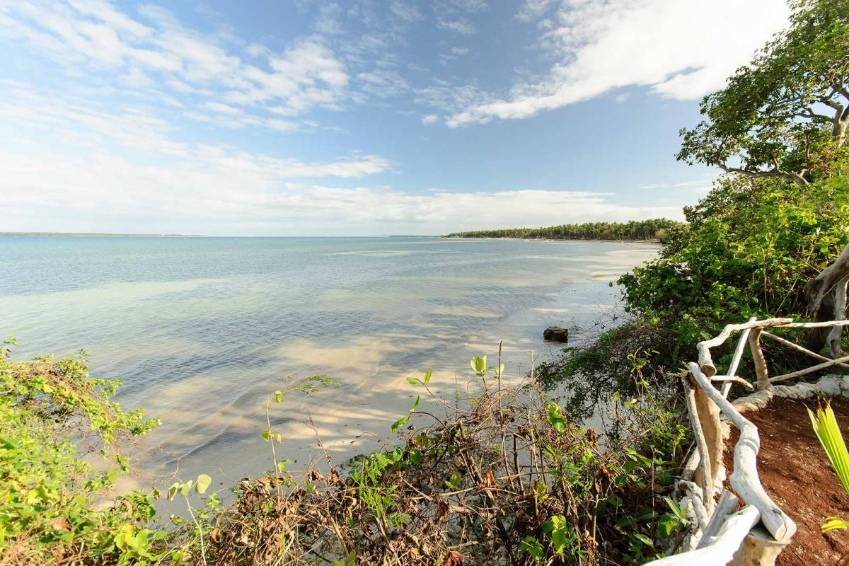The ocean view from Bantayan Island Nature Park and Resort