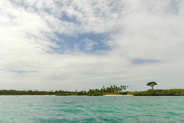 The coastal scenery of Bantayan Island on our way back to Anika Beach Resort, Bantayan Island