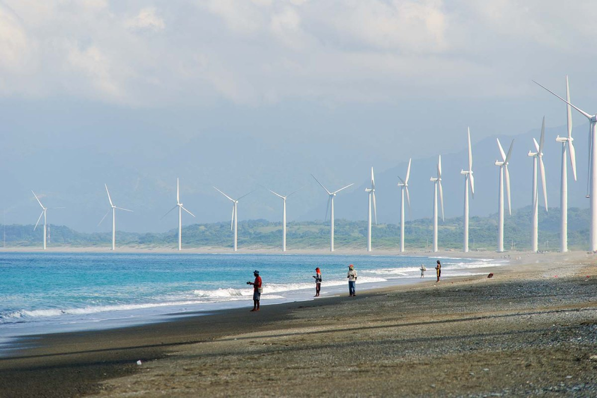 The Bangui Windmills