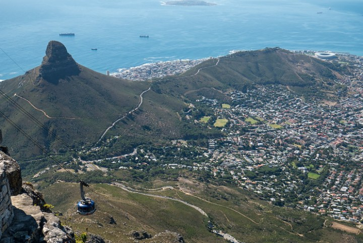Exploring the gorgeous Table Mountain in Cape Town, South Africa.