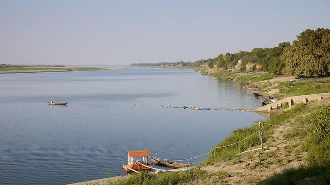 Irrawaddy River or Ayeyarwady River