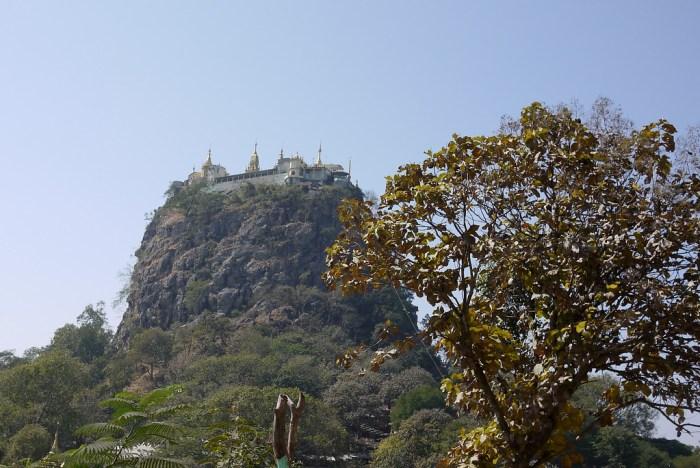 mount popa temple bagan burma