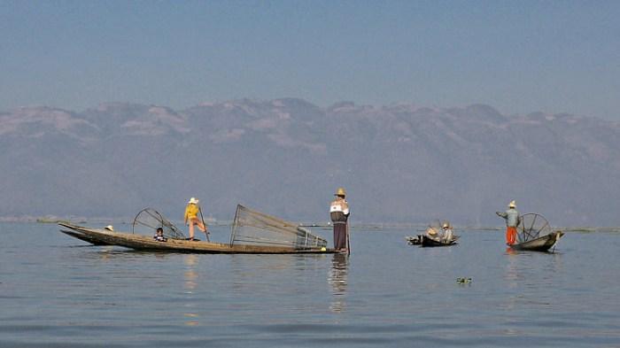Inle Lake Fishermen, Burma