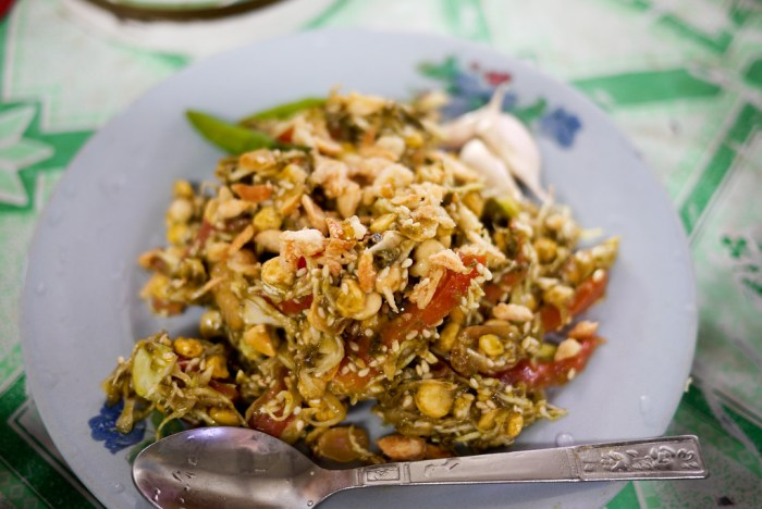 Lepheto, Tea Leaf Salad