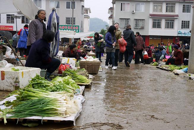 Fuli Market streets, China