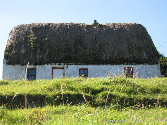 Small Thatched Cottage, Ireland