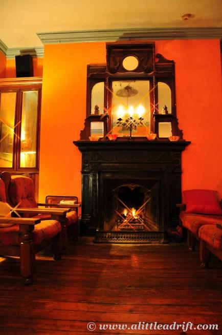 Peat Fireplace