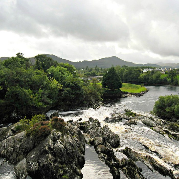 River on Iveragh Peninsula, Ireland