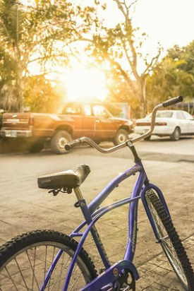 My bicycle I used to ride around San Pancho!