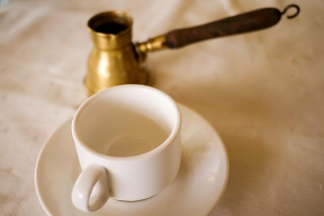 Classic Arabic coffee served hot and fresh.