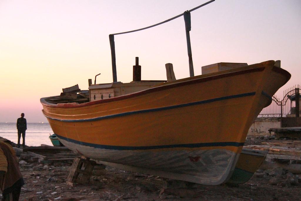 Boatyard Boat - Alexandria, Egypt