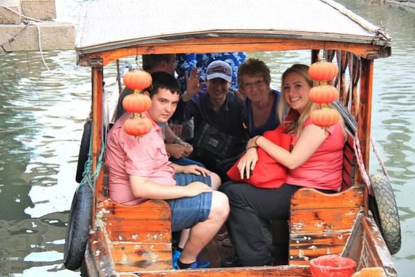 Gondola ride - Suzhou, China