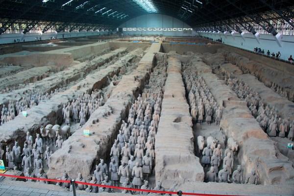 Terra Cotta Warriors - Xi'an China
