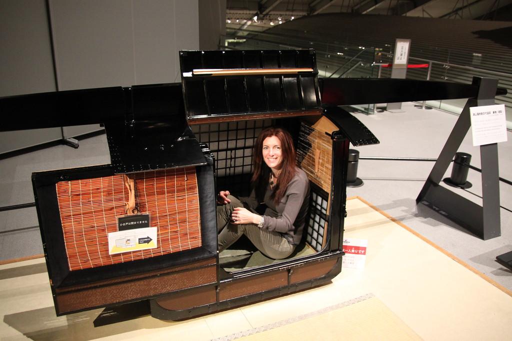 Princess's Sedan Chair - Tokyo, Japan - Daily Photo