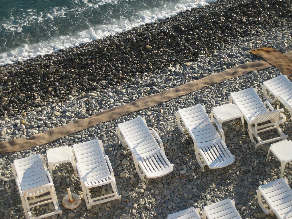 The Beach at Nice, France