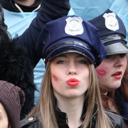 Kisses at Carnival in Dusseldorf, Germany