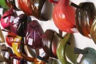 Zebu horn crafts factory