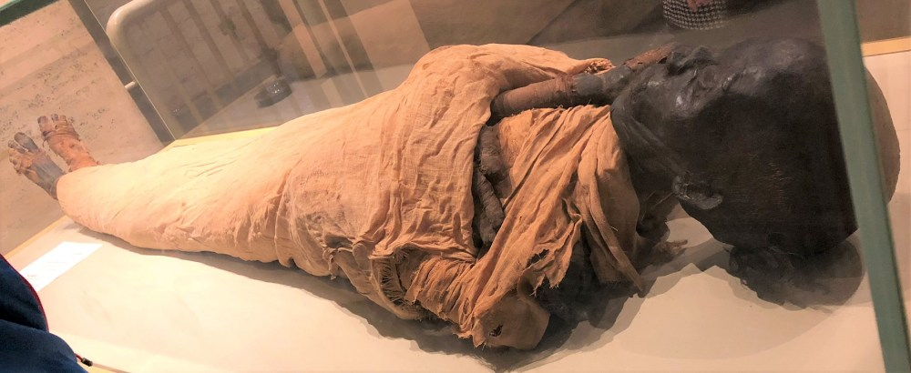 Real Mummy of a King